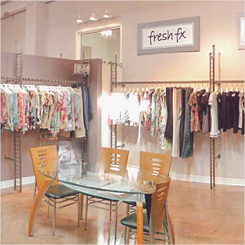 Clothing Store Racks